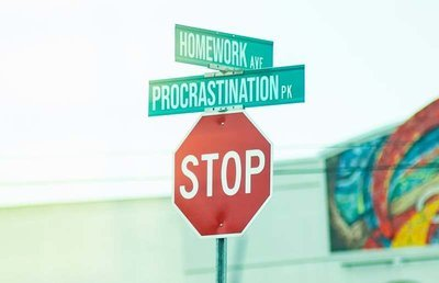 Procrastination Road Sign